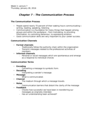 HROB 2100 Lecture Notes - Lecture 5: Communication Apprehension, Pearson Education, The Sender