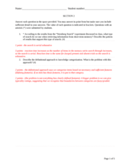 PSY270H5 Lecture Notes - Lecture 10: Mental Chronometry, Suggestibility, Categorical Perception