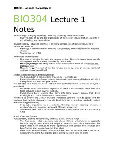 bio304h5-lecture-1-bio304-test-1-prep-lecture-1-notes