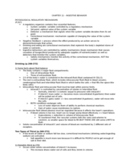 PSYC 211 Chapter Notes - Chapter 11: Mechanoreceptor, Higer Bus, Angiotensin