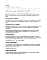 CCT210H5 Study Guide - Midterm Guide: Semiosis, Social Semiotics, Tempura