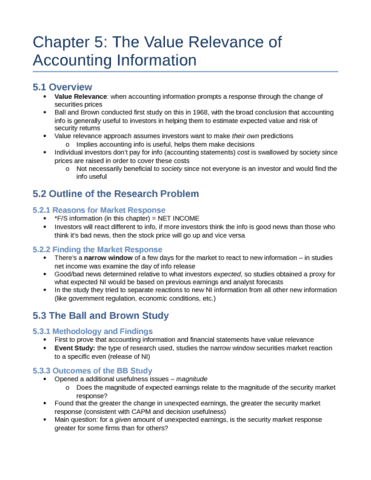 relevance of accounting information Accordingly, the current study examines the value relevance of accounting  information in jordan to extend valuation research in this country as a  contribution to.
