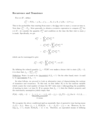 STAT333 Lecture Notes - Lecture 13: Equivalence Class, Random Variable, Part Of Speech