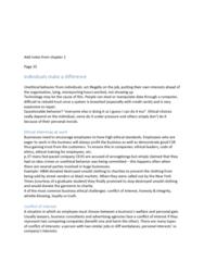RSM100Y1 Chapter Notes - Chapter 2: Sponsorship Scandal, Business Ethics, Chevrolet Volt