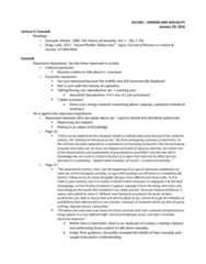 SOC395H1 Lecture Notes - Lecture 3: Medicalization, Sexology, Androgyny