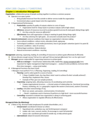 ADM 1300 Study Guide - Midterm Guide: Airbnb, Joint Venture, Nec