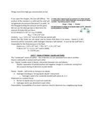 CHM135H1 Lecture Notes - Lecture 9: Ideal Gas Law, Horse Length, Polarizability