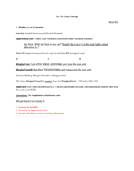 ECO100Y1 Study Guide - Final Guide: Demand Curve, Sunk Costs, Price Floor