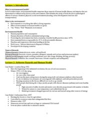 EESA10 Midterm: EESA10 Midterm Review Notes