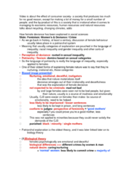 SOC211H5 Lecture Notes - Lecture 10: Social Control Theory, Liberal Feminism, Marxism