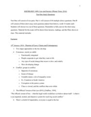 SOC 3490 Study Guide - Midterm Guide: Corporate Crime, Marxism, Profit Motive