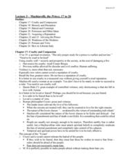 POL200Y1 Lecture Notes - Lecture 3: Leviathan, Cesare Borgia, Spiritual Warfare