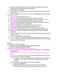 SOC 153 Lecture Notes - Lecture 3: Scientific Control