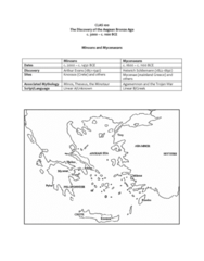 CLAS100 Lecture Notes - Lecture 49: Chania, Ideogram, Aegean Civilizations