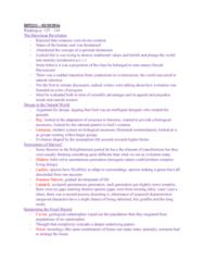 HPS211H1 Lecture Notes - Lecture 5: Erasmus Darwin, Binomial Nomenclature, Mendelian Inheritance