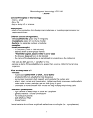 HSS 1100 Study Guide - Midterm Guide: Attenuated Vaccine, Cell-Mediated Immunity, Humoral Immunity
