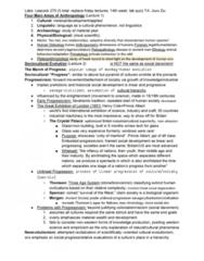 ANTH 203 Study Guide - Midterm Guide: Catarrhini, Oligocene, Thermoluminescence