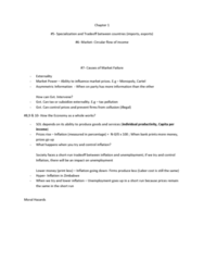 ECON 101 Lecture Notes - Lecture 1: Externality