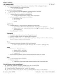CT203 Study Guide - Midterm Guide: Chagas Disease, Enzootic, Good Works