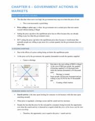Economics 1021A/B Lecture Notes - Lecture 6: Equilibrium Point, Economic Equilibrium, Price Ceiling