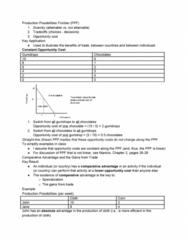 ECO101H1 Lecture Notes - Lecture 2: Gumdrop, Absolute Advantage, Comparative Advantage
