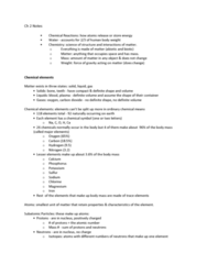 ANAT 101 Chapter Notes - Chapter 2: Chemical Polarity, Ionic Bonding, Electron Shell