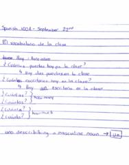 SPAN100A Lecture 3: nouns