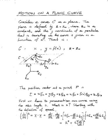 civ-eng-2q03-lecture-2-application-of-tnb-basis-motion-on-a-plane-curve