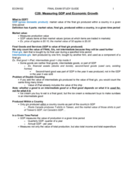ECON102 Final: ECON102 FINAL EXAM 80 PAGE COMPREHENSIVE STUDY GUIDE