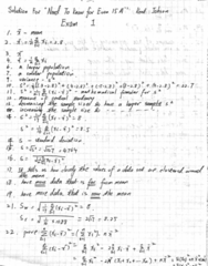Econ 15A Midterm: Need to know exam 1 solution