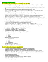 RLG206H5 Final: RLG206 Exam Study Notes