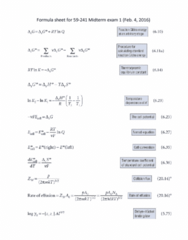 Chemistry and Biochemistry 59-241 Lecture 7: 59241midtermformulasheet(draft2)