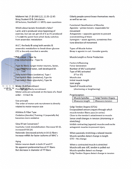 APA 2312 Lecture Notes - Lecture 9: Hypertrophy, Delayed Onset Muscle Soreness, Myofibril