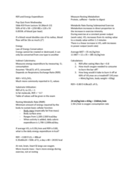 APA 2312 Lecture Notes - Lecture 17: Spirometry, Respiratory Tract, Body Surface Area