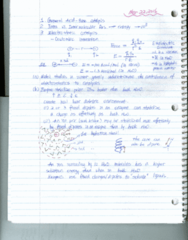 BIOC 4701 Lecture Notes - Lecture 18: Carboxypeptidase A, Electrostatics, Ethylenediaminetetraacetic Acid