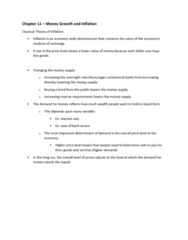 ECON 104 Chapter Notes - Chapter 11: Nominal Interest Rate, Seigniorage, Overnight Rate