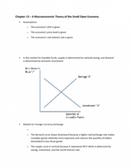 ECON 104 Chapter Notes - Chapter 13: Exchange Rate, Loanable Funds, Real Interest Rate