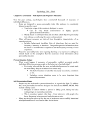 Psychology 3301F/G Chapter Notes - Chapter 8-15: Internal Validity, Neuropsychological Test, Dementia