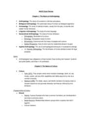 AN101 Study Guide - Final Guide: Biological Anthropology, Dowry, Sociolinguistics