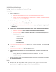 NRS 213 Chapter Notes - Chapter 11: Insulin Resistance, Health Canada, Sucralose