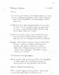 REL120 Lecture Notes - Lecture 15: Rais, Sacramento Blackfish, Mikveh