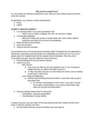 SOC 153 Lecture Notes - Lecture 32: Delayed Gratification, Dominant Ideology, Class Discrimination