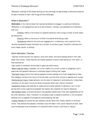 Psychology 2660A/B Chapter Notes - Chapter 8-13: Depersonalization, Occupational Stress, Posttraumatic Stress Disorder