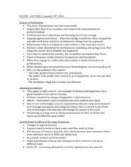 SOC355H5 Lecture Notes - Lecture 3: Chicago White Sox, Trait Theory, Escalator