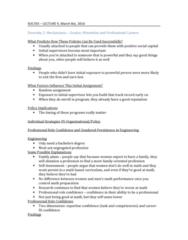 SOC355H5 Lecture Notes - Lecture 9: Social Capital, Millennials