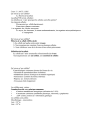 APA 1561 Lecture Notes - Lecture 2: Dune, Eukaryote, Cytochrome C