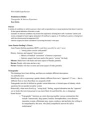 Women's Studies 1020E Final: WS 1020E Exam Review - Full Second Semester