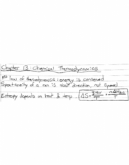 CHEM102 Lecture 6: Chapter 13: Chemical Thermodynamics