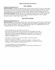 SOCY 122 Chapter Notes - Chapter 1-20: Feminist Sociology, Gender Pay Gap, Labour Power