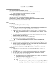 ENG 1120 Lecture Notes - Lecture 2: Carrot Cake, Washing Machine, Masturbation